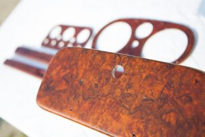 Classic Car wooden dashboard restoration and reveneering - Classic Dashboards