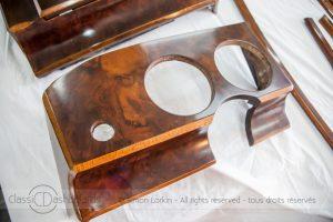 Jaguar MKII Wooden dashboard and interior trim restoration