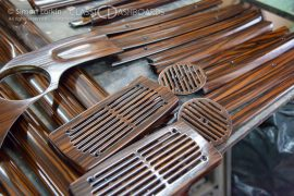 Mercedes Pullman Woodwork restorer. – Classic Dashboards