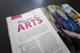 Master of Arts – Simon Lorkin featured in Living France Magazine
